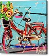 bike of Amsterdam series 2018 no.2 Acrylic Print