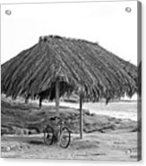 Bike Sale At The Windnasea Shack In La Jolla. Acrylic Print