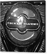 Biker Blues Acrylic Print