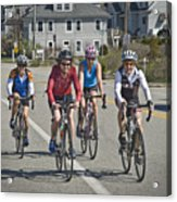 Bikers Acrylic Print