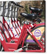 Bikes For Rent Acrylic Print