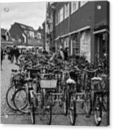 Bikes Of Skagen Acrylic Print