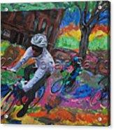 Biking In Mn  Acrylic Print
