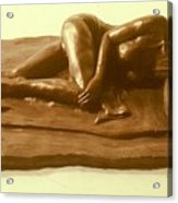 Bikini Babe  Acrylic Print