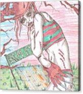 Bikini Freddy Acrylic Print by Michael Toth