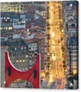 Bilbao Street Acrylic Print