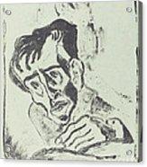 Bildnis Dr. Gr. Acrylic Print