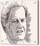 Bill Clinton Acrylic Print