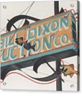 Bill Dixon Auction Acrylic Print