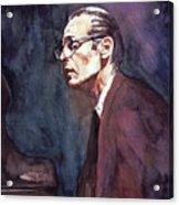 Bill Evans - Blue Symphony Acrylic Print