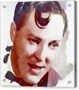 Bill Haley, Music Legend Acrylic Print