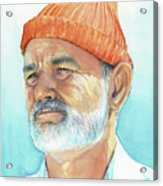 Bill Murray Steve Zissou Life Aquatic Acrylic Print