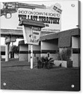 Billboard The Last Territory Tucson Arizona 1987 Acrylic Print