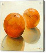 Billes Oranges Acrylic Print