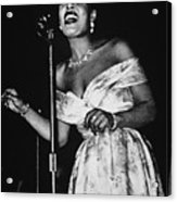 Billie Holiday Acrylic Print by American School
