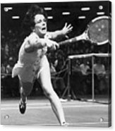 Billie Jean King Acrylic Print