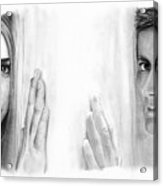 Billie Piper And David Tennant Acrylic Print