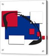 Bills Abstract Shirt Acrylic Print