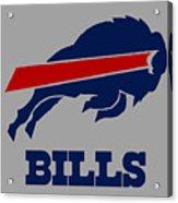 Bills Football Club Acrylic Print