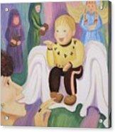 Billy As Baby Jesus Acrylic Print