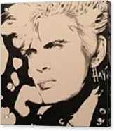 Billy Idol Acrylic Print