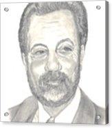 Billy Joel Portrait Acrylic Print