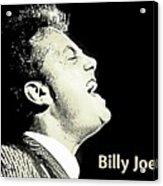Billy Joel Poster Acrylic Print
