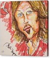 Billy Ray Cyrus Acrylic Print