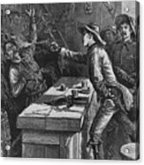 Billy The Kid 1859-81, Shooting Acrylic Print