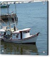 Bilouxi Shrimp Boat Acrylic Print