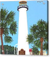 Biloxi Lighthouse Acrylic Print