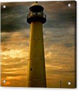 Biloxi Lighthouse Acrylic Print by Scott Pellegrin