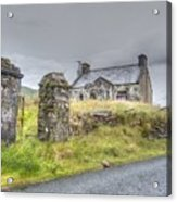 Bina's Cottage Outside Leenane Acrylic Print