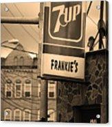 Binghampton New York - Frankie's Tavern Acrylic Print