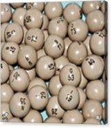 Bingo Balls Acrylic Print