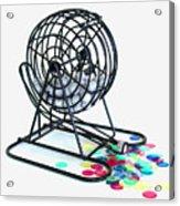 Bingo Cage Acrylic Print