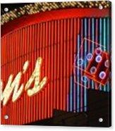 Binions Casino  Acrylic Print