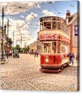 Binns Tram 5 Acrylic Print