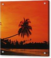 Bintan Island Beach Acrylic Print