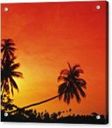 Bintan Island Sunset Acrylic Print