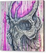 Bioskull1 Acrylic Print