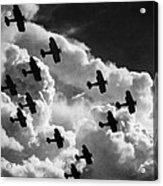 Biplanes, C1917 Acrylic Print