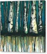 Birch Trees #1 Acrylic Print