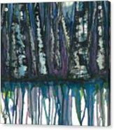 Birch Trees #4 Acrylic Print