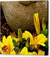 Bird And Bloom Acrylic Print