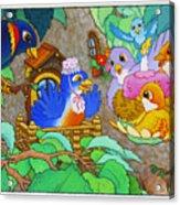 Bird-day Acrylic Print
