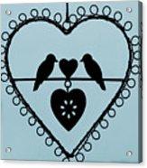 Bird Heart Acrylic Print