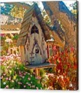 Bird House Acrylic Print