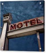 Bird House Motel #2 Acrylic Print