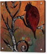 Bird I Wr Acrylic Print